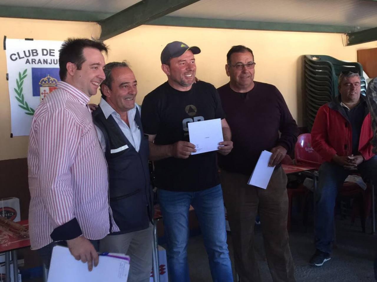 El Campeón Senior de la tirada, D. Pedro Ramos Muñoz.