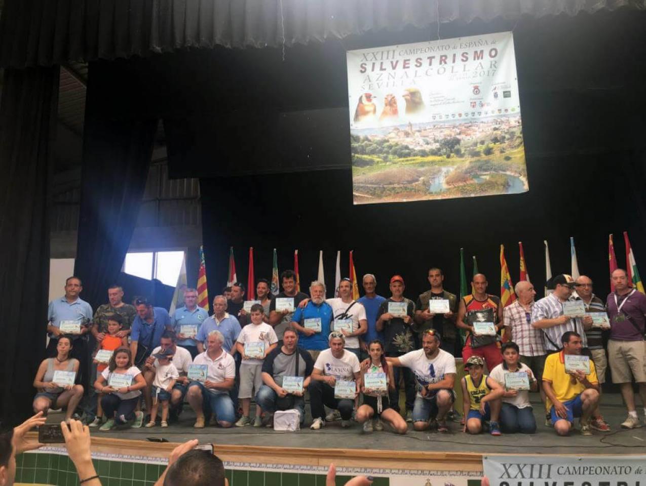 Clasificados XXIII Campeonato silvestrismo 2017