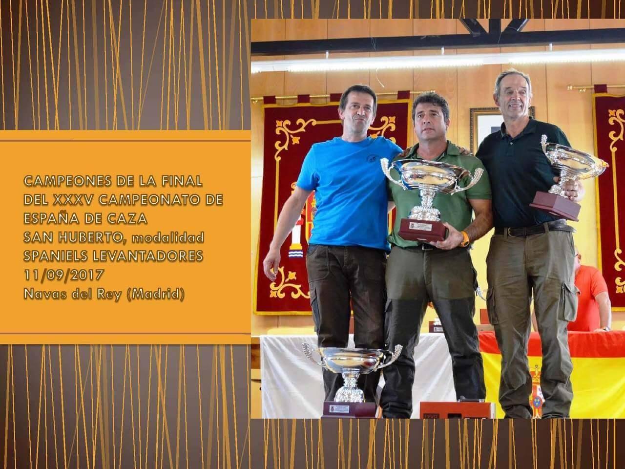 Campeonato España San Huberto 2017