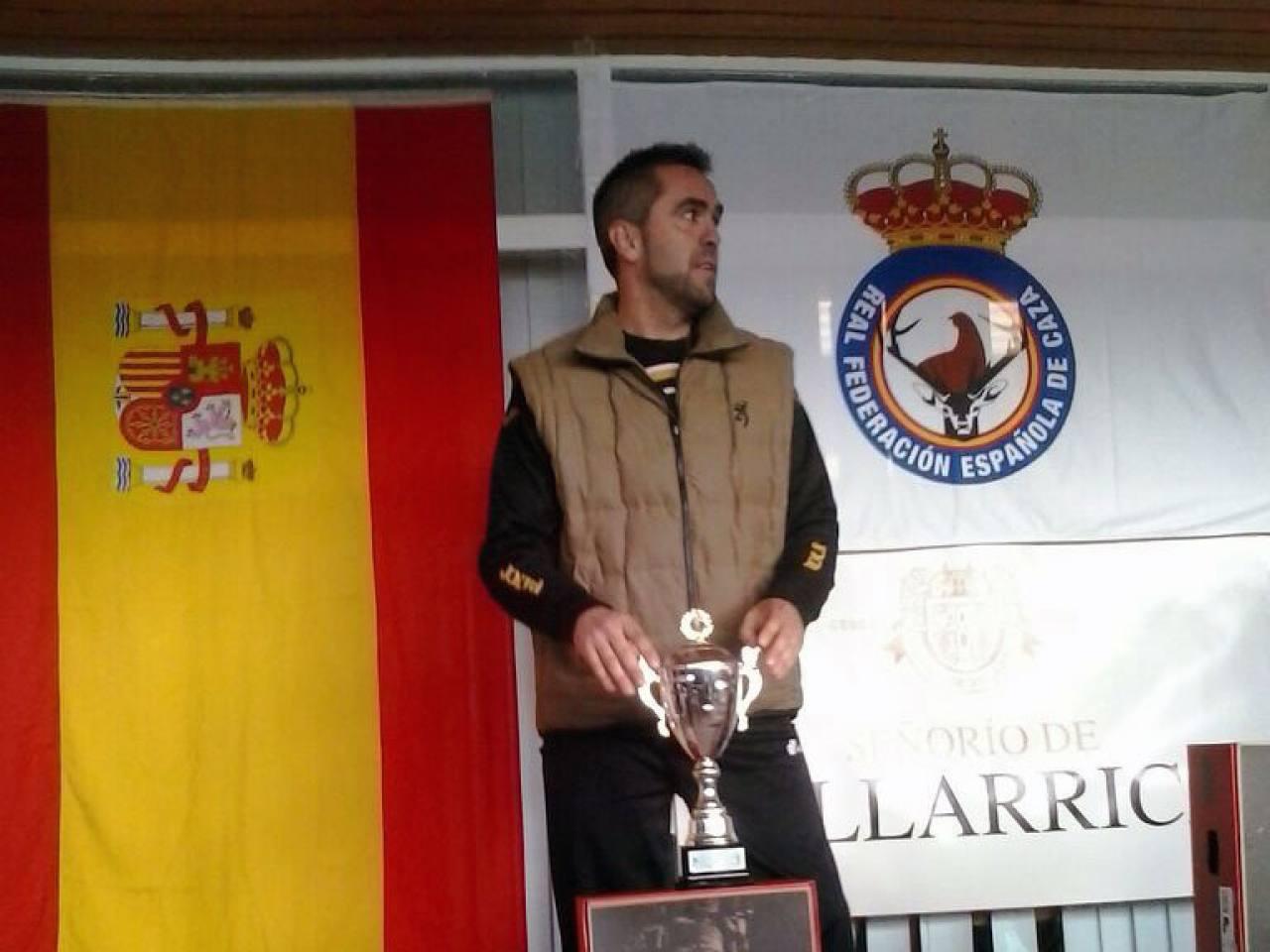 Campeon España 2014 - Podium  Miguel Angel