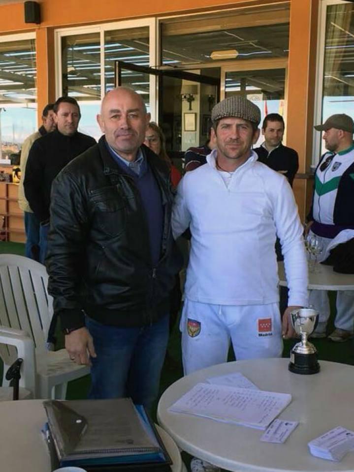 El Campeón Colombaire D. Alfonso Polo Almunia.