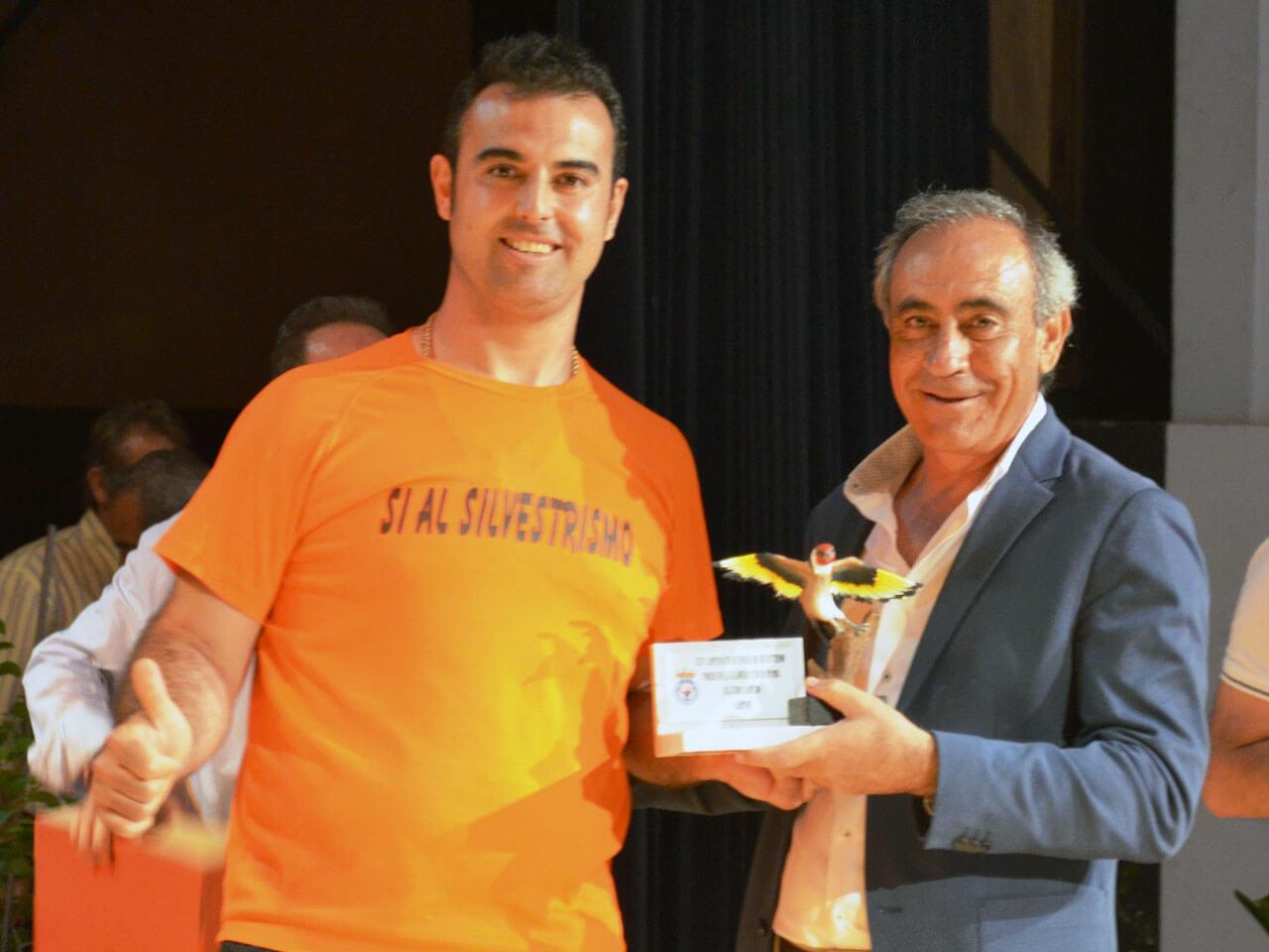 Campeonato España Cante 2018 - Vicente Lázaro Subcampeon M. Jilg