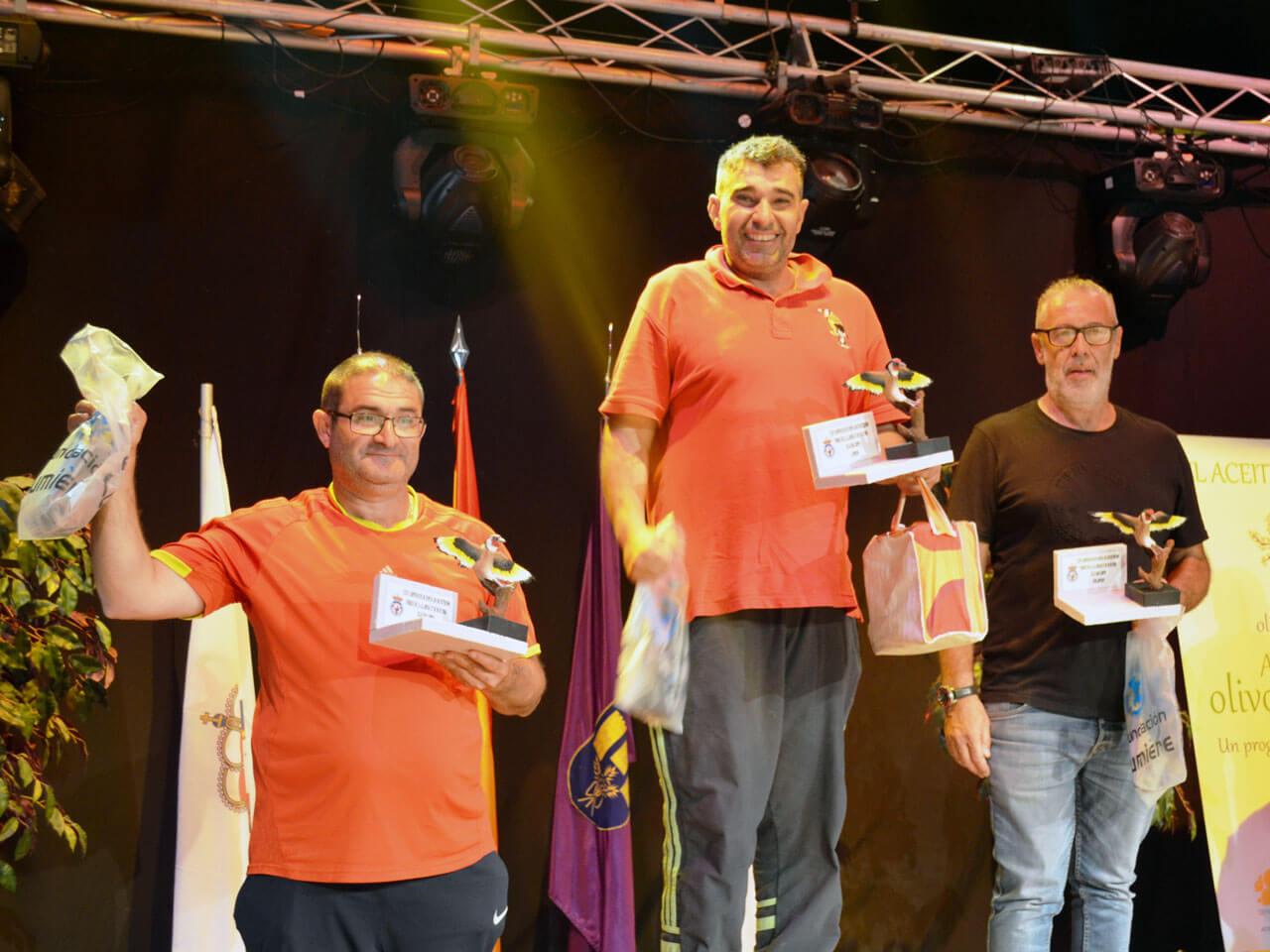 Campeonato España Cante 2018 - Podicum Jilguero Limpio