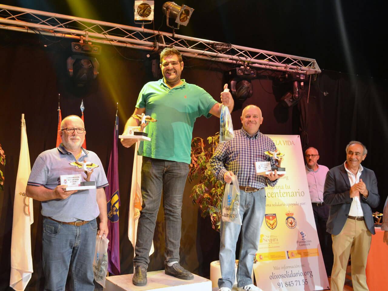 Campeonato España Cante 2018 - Podium M Jilg.
