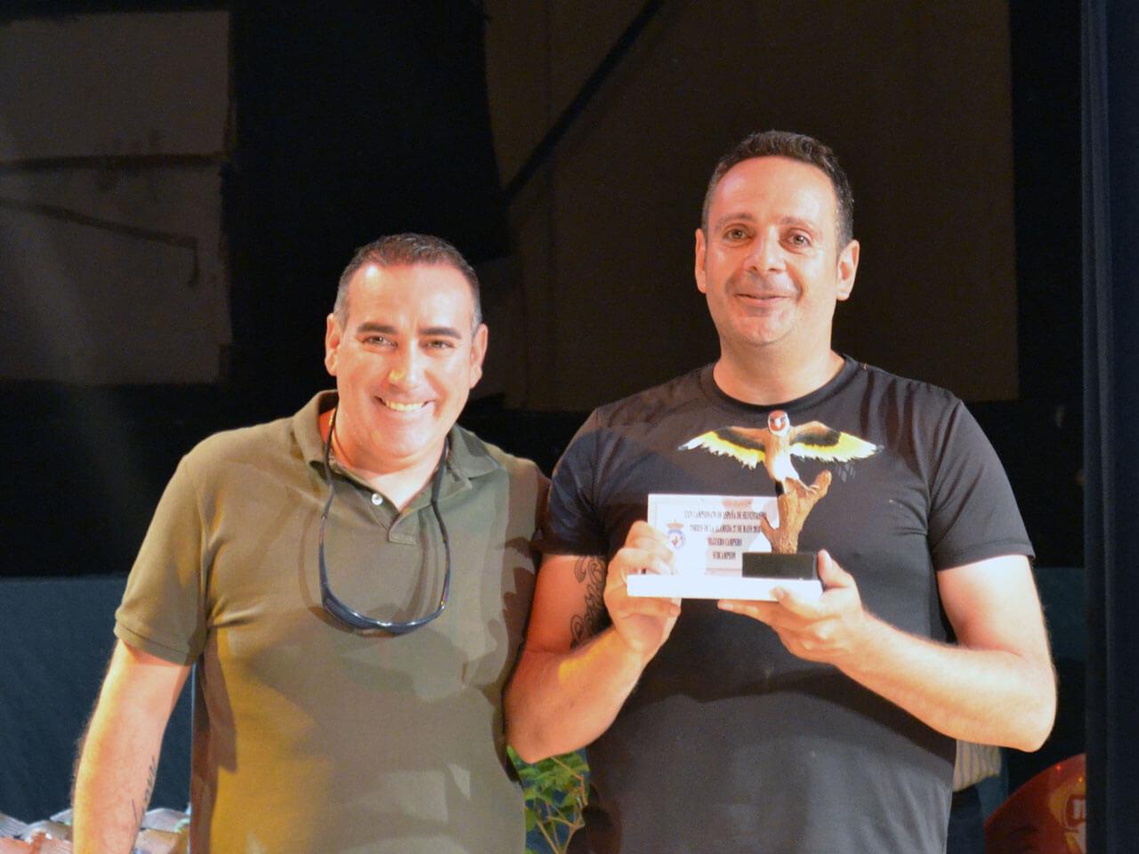 Campeonato España Cante 2018 - César Cebria´n Subcampeon Jilg