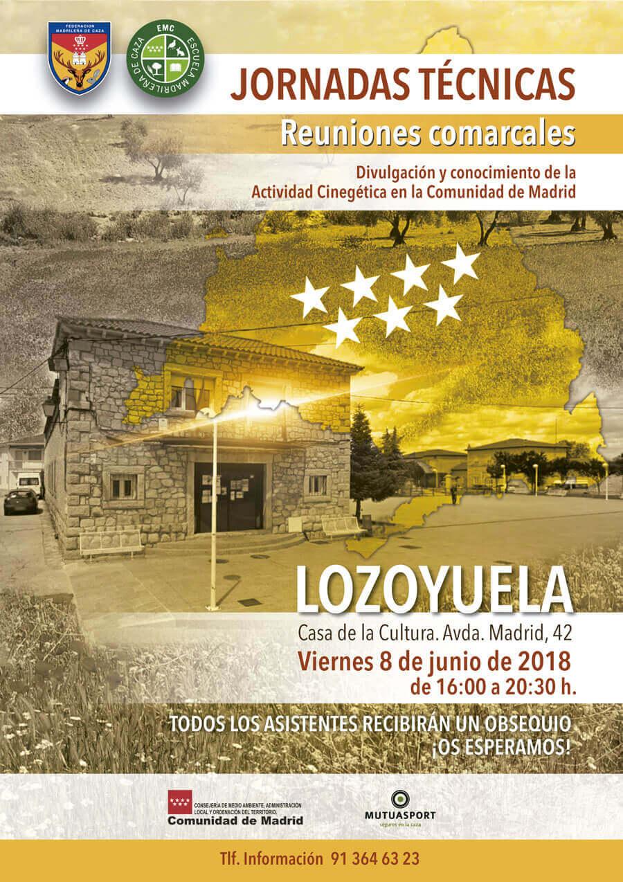 Jornadas comarcales - Lozoyuela junio 2018