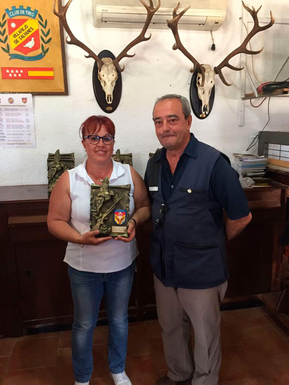 Campeona Femenina - Dª Cándida Torres Ramírez