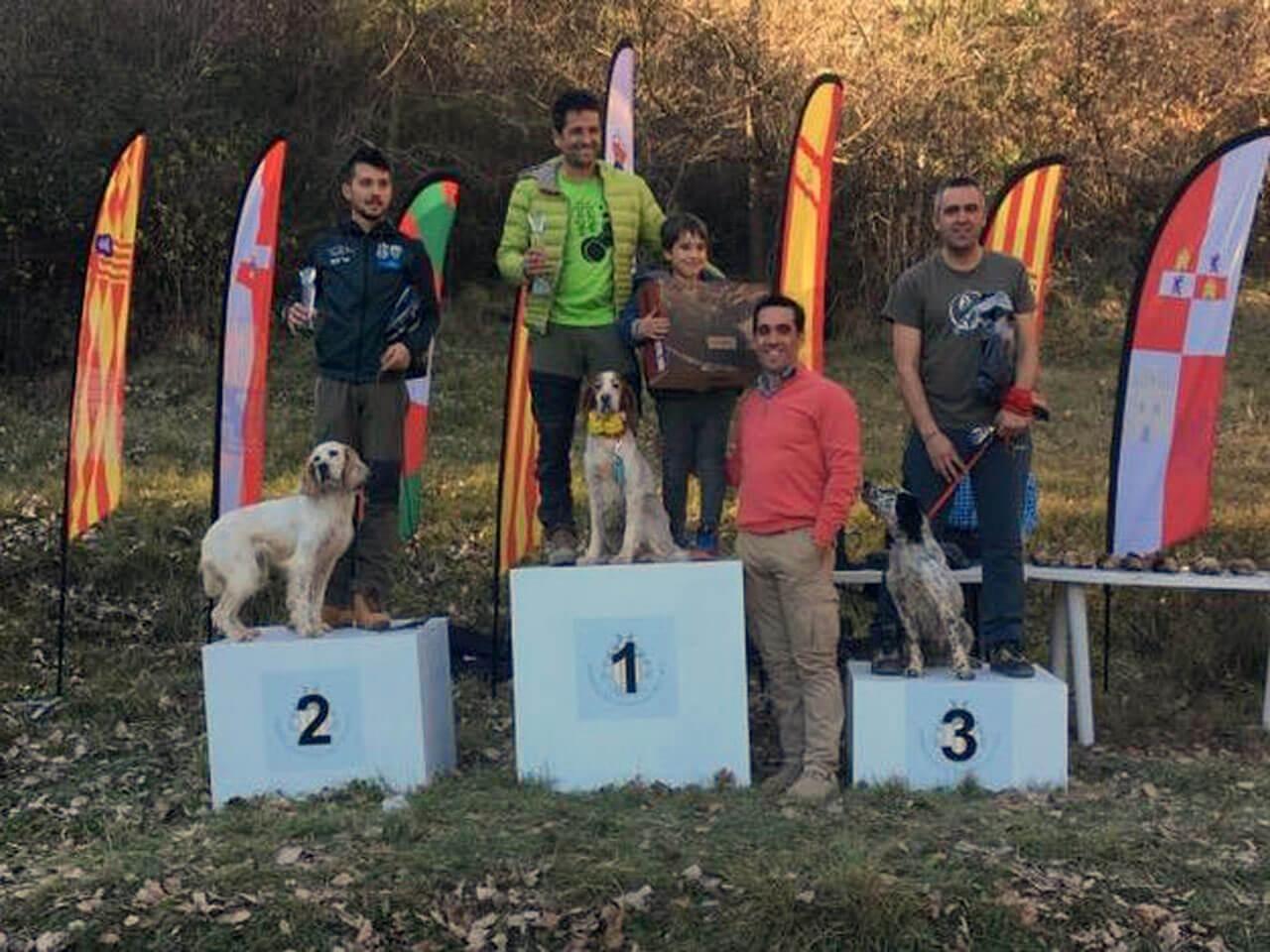 Miguel A. Alonso, tercero en el XXVIII Campeonato de España Becadas