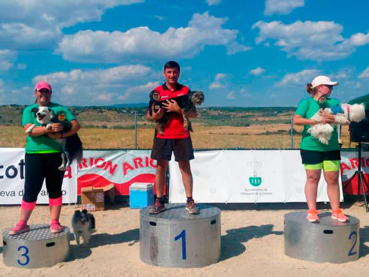 III Campeonato Autonómico Liga Agility 2018 - Categoría 40