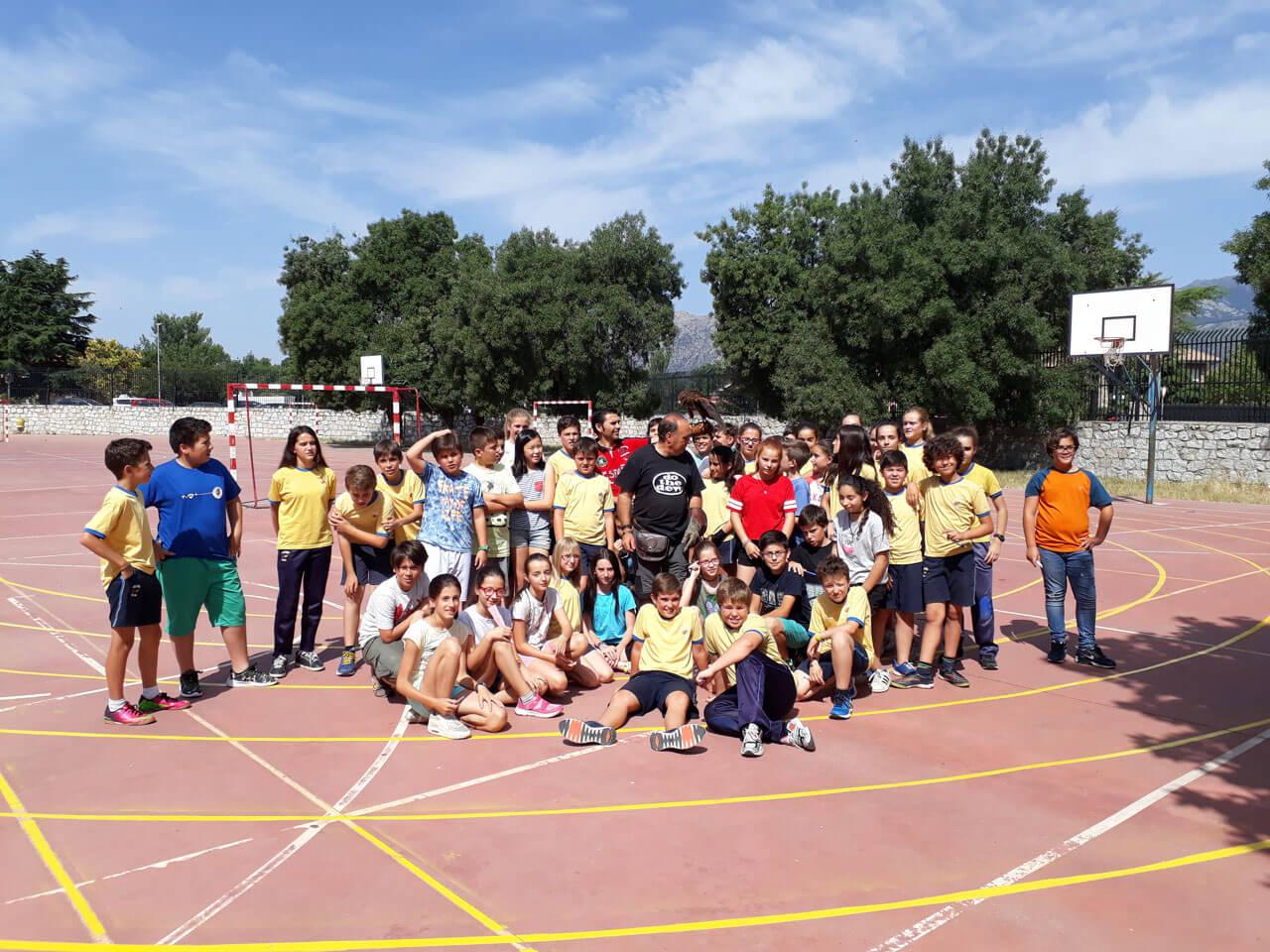 Escuela - Fotos Cetrería