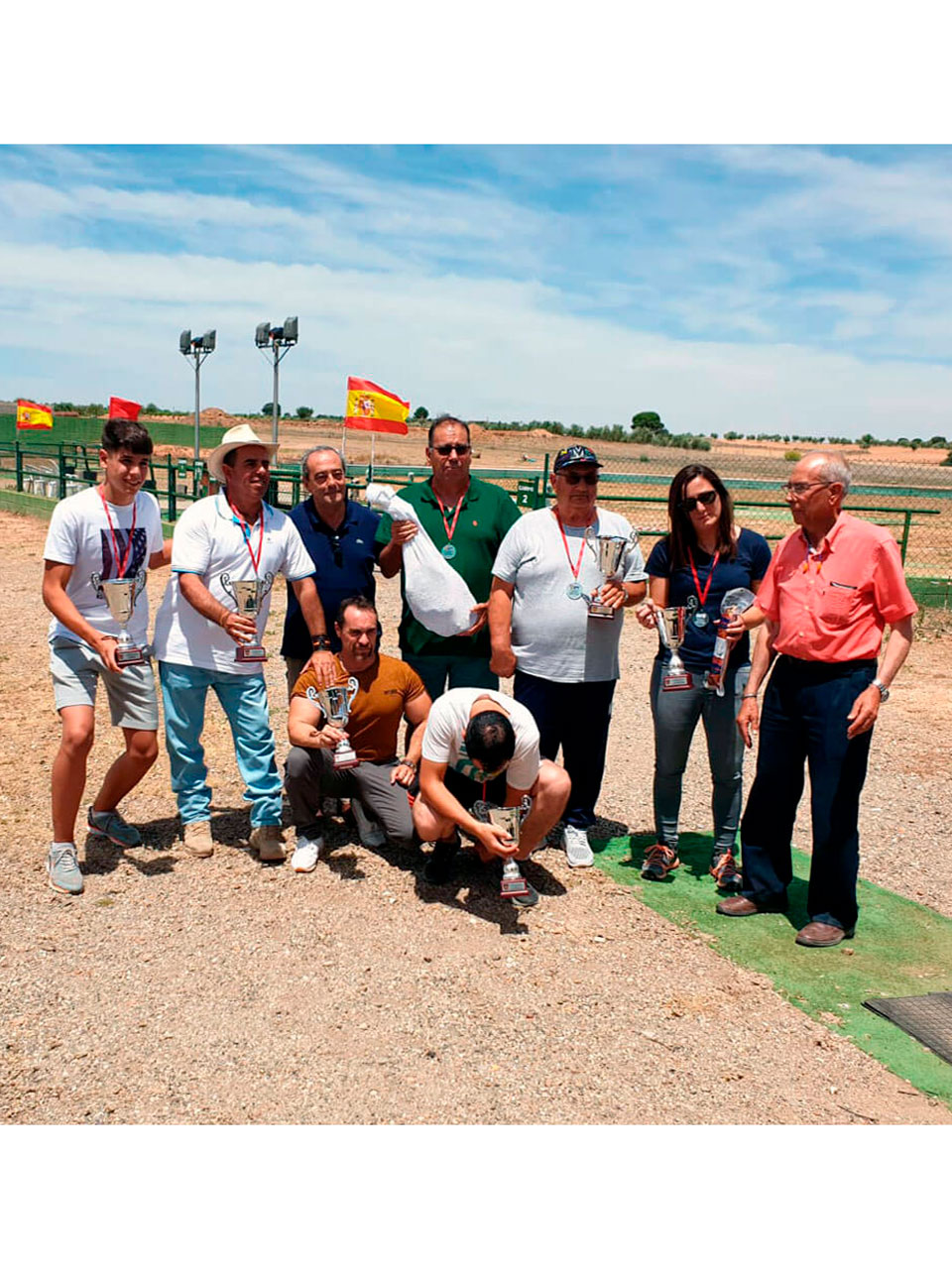 Equipo Autonómico Codornices a vuelo 2019