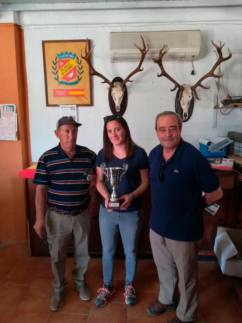 Amelia Sevilla, Campeona Autonómica Femenina