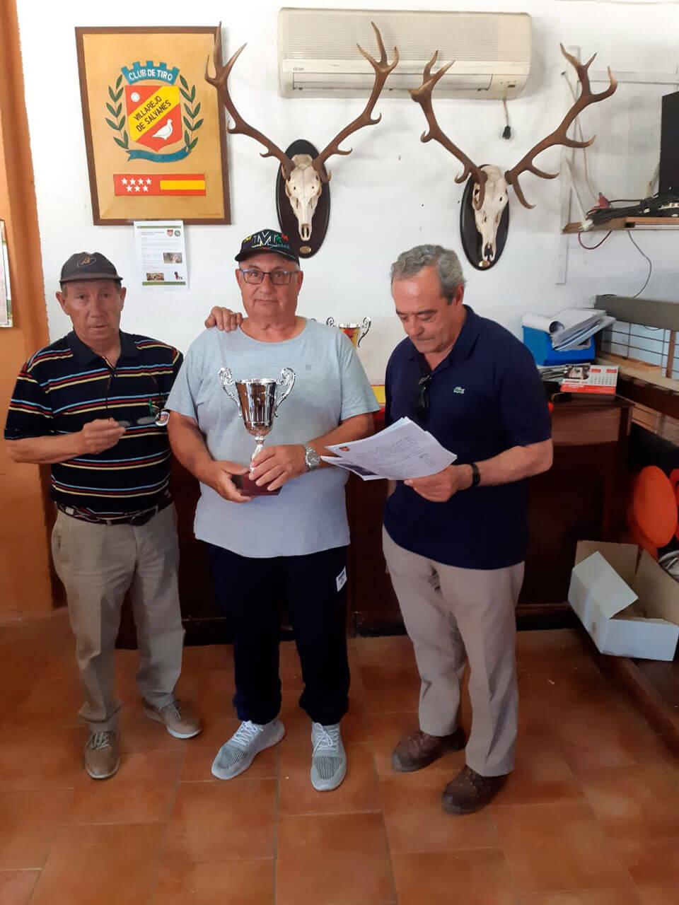 Antonio Blanco, Campeón Autonómico categoría Veterano.