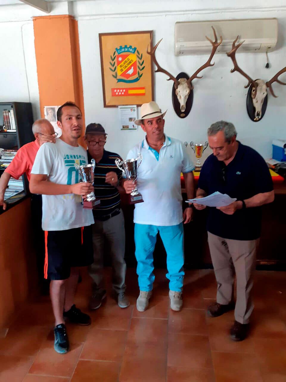 Alberto Collado y Manuel Carbonell, Tercer Clasificado y Subcampeón Autonómico