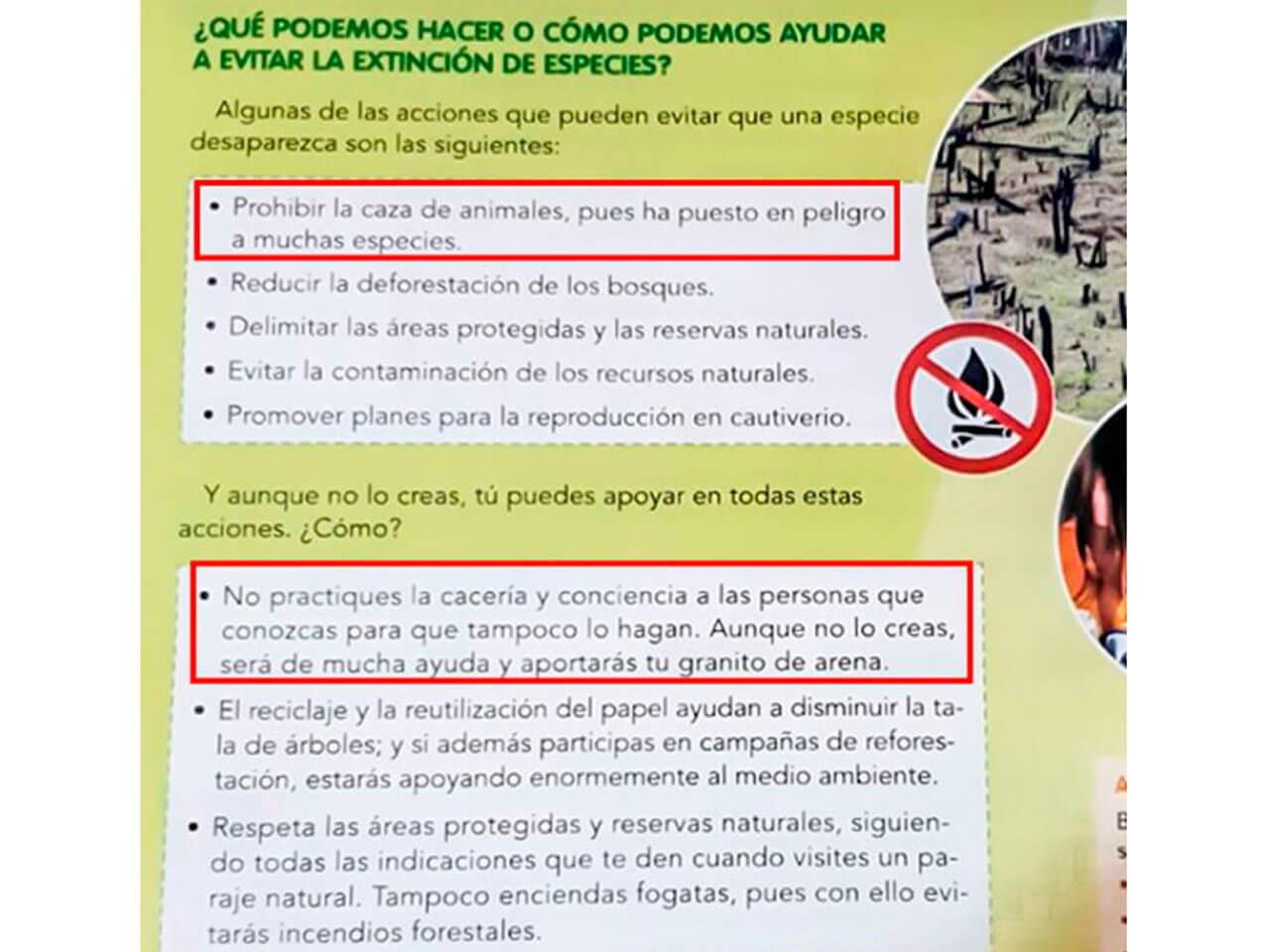 La RFEC exige rectificación a Editorial Vicens Vives