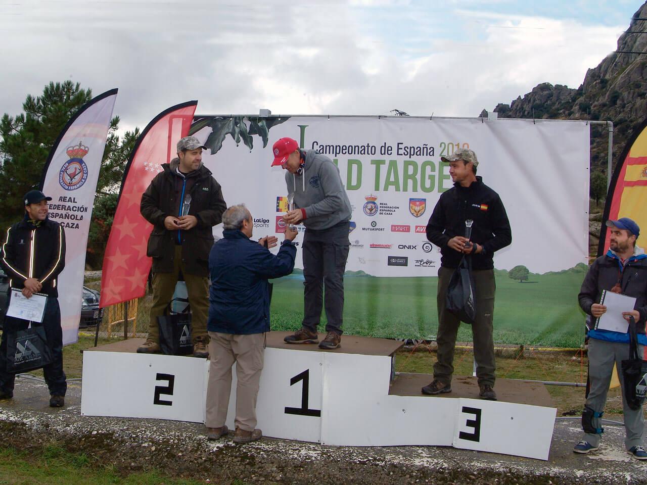 campeones de España de Field Target