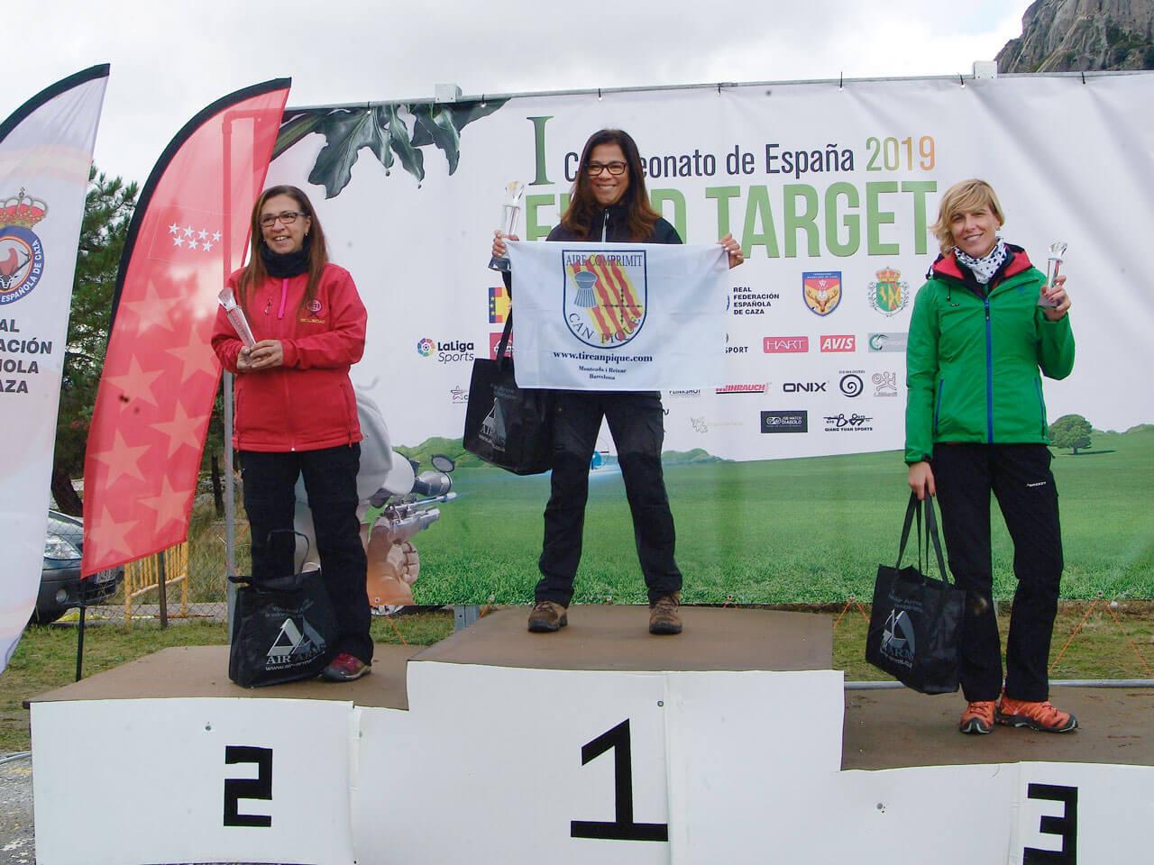campeones de España de Field Target Damas