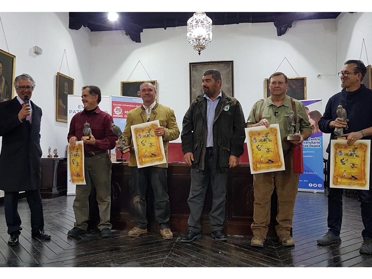 Campeonato de España de Cetrería 2019 - Entrega de premios