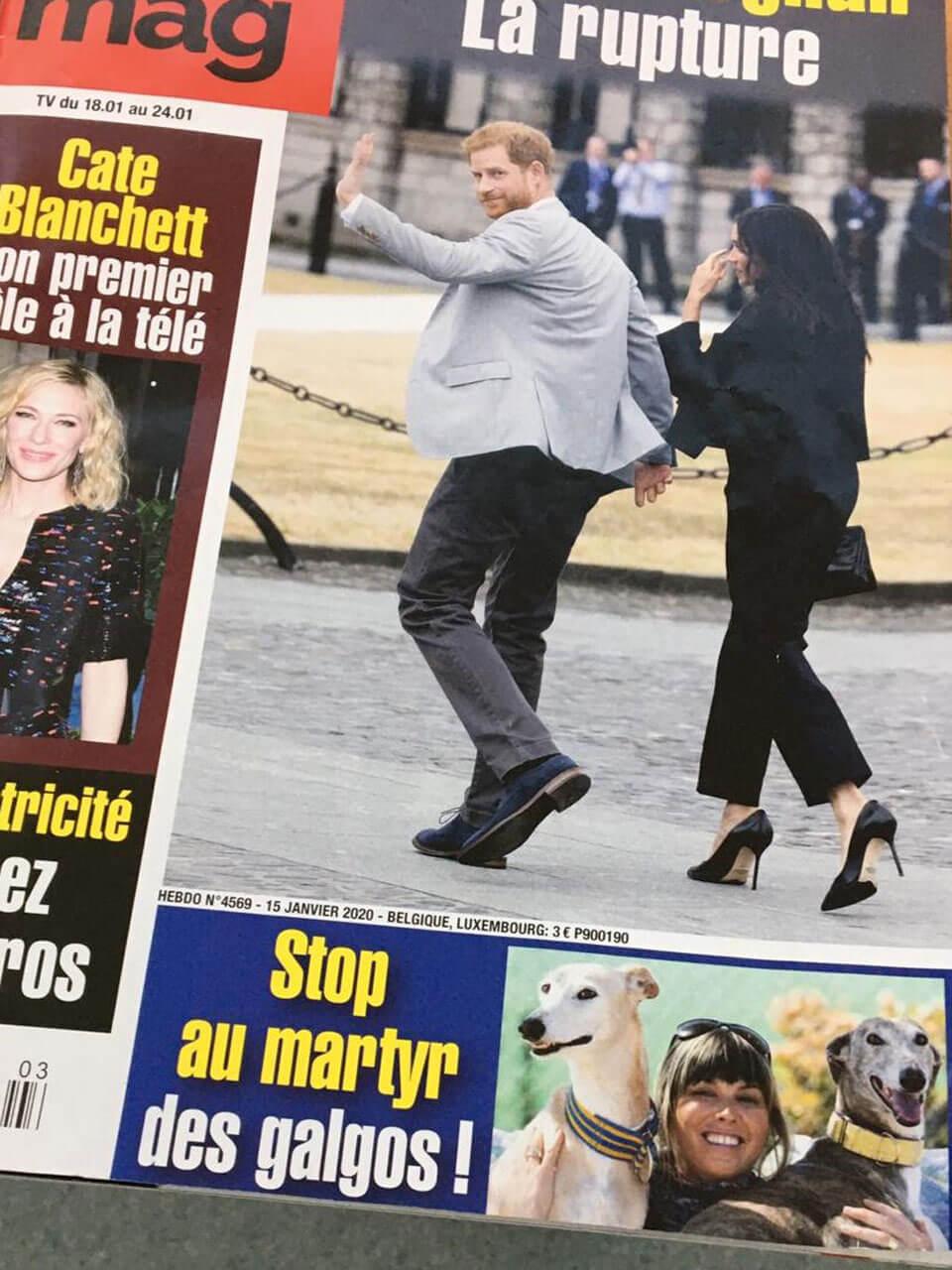 Campaña anticaza en medios europeos