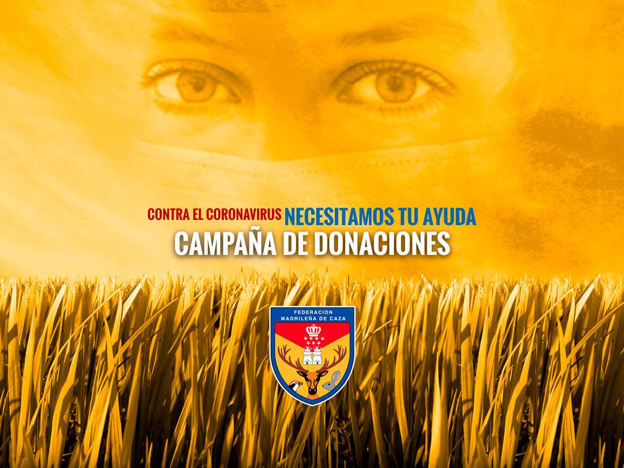 Campaña solidaria de la Federación Madrileña de Caza