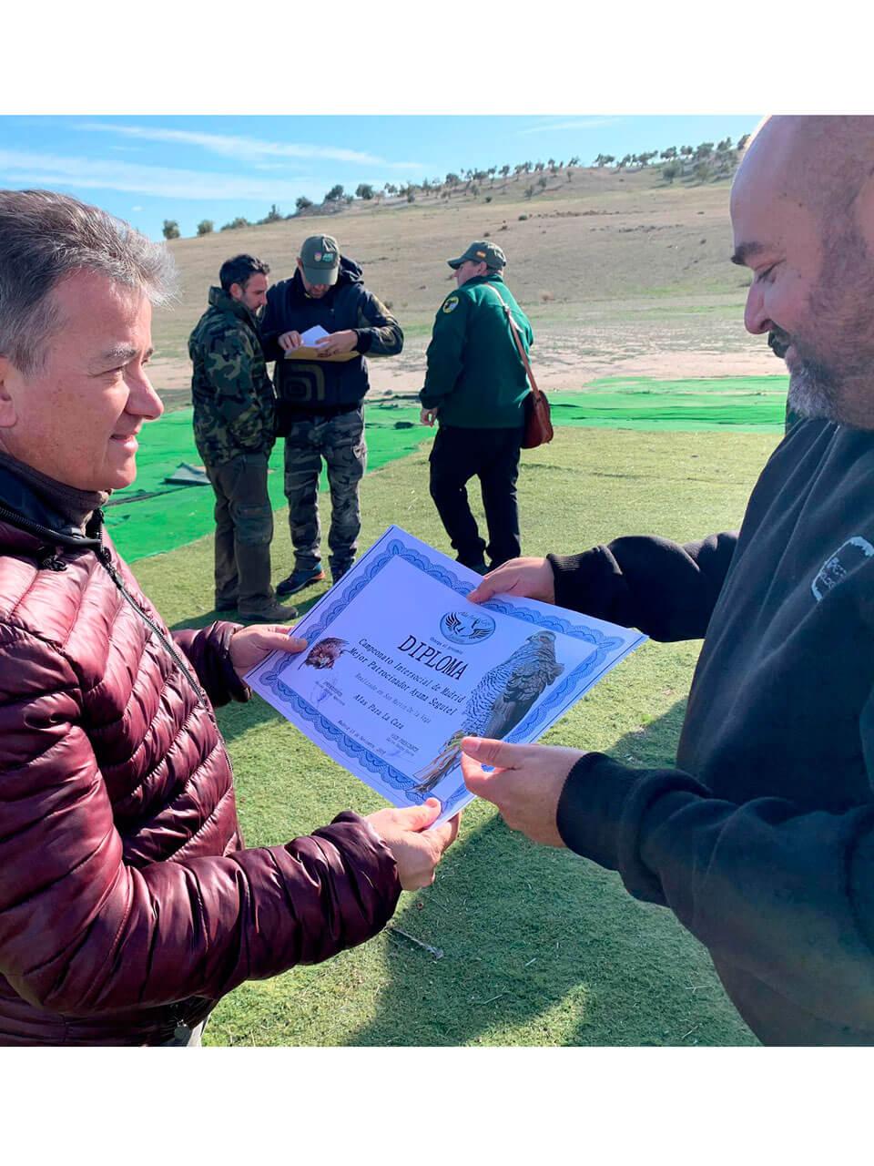 Campeonato Intersocial Bajo Vuelo 2019 - Diploma Ayama