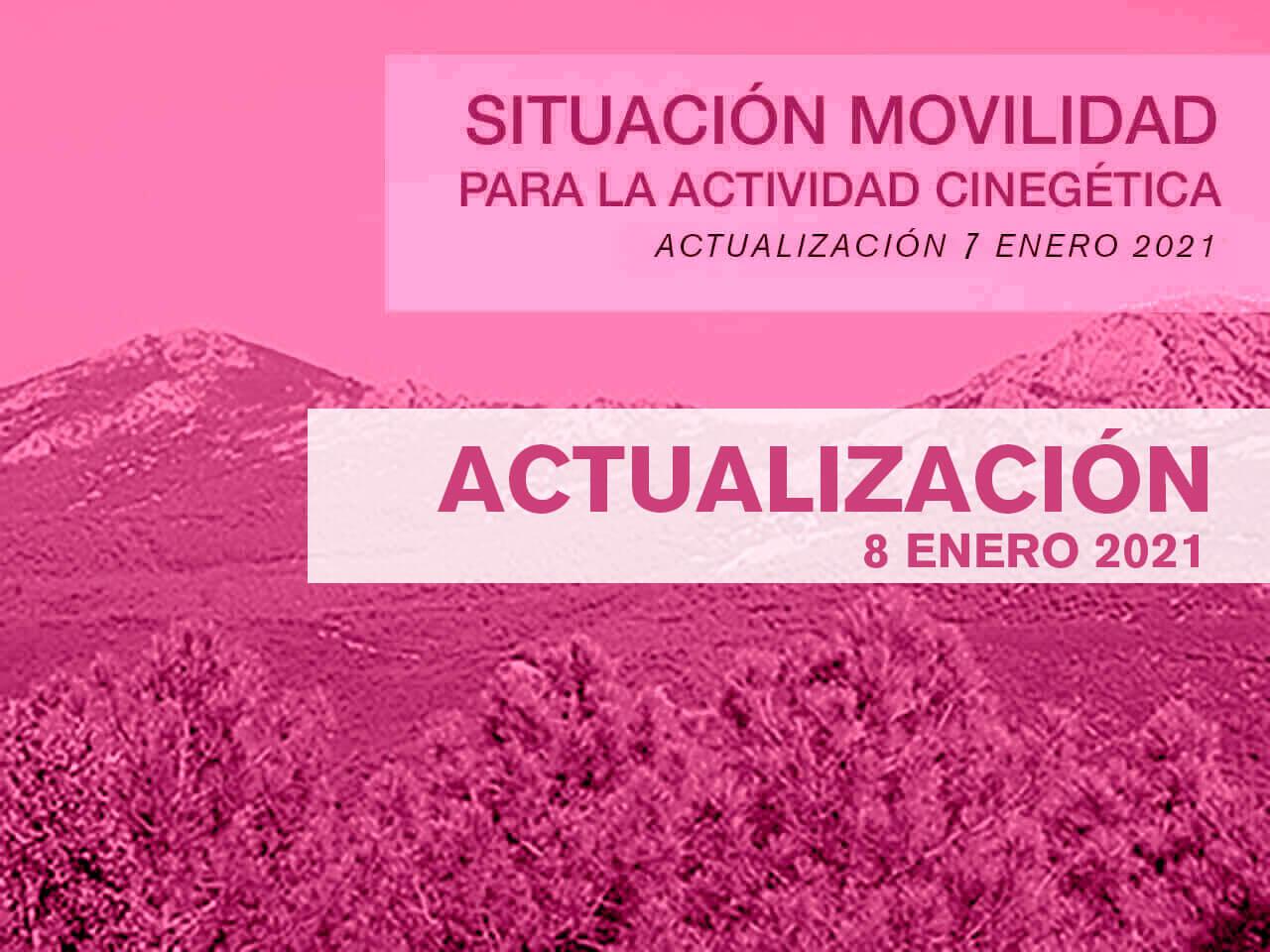 Situación de la movilidad para la práctica de la actividad cinegética