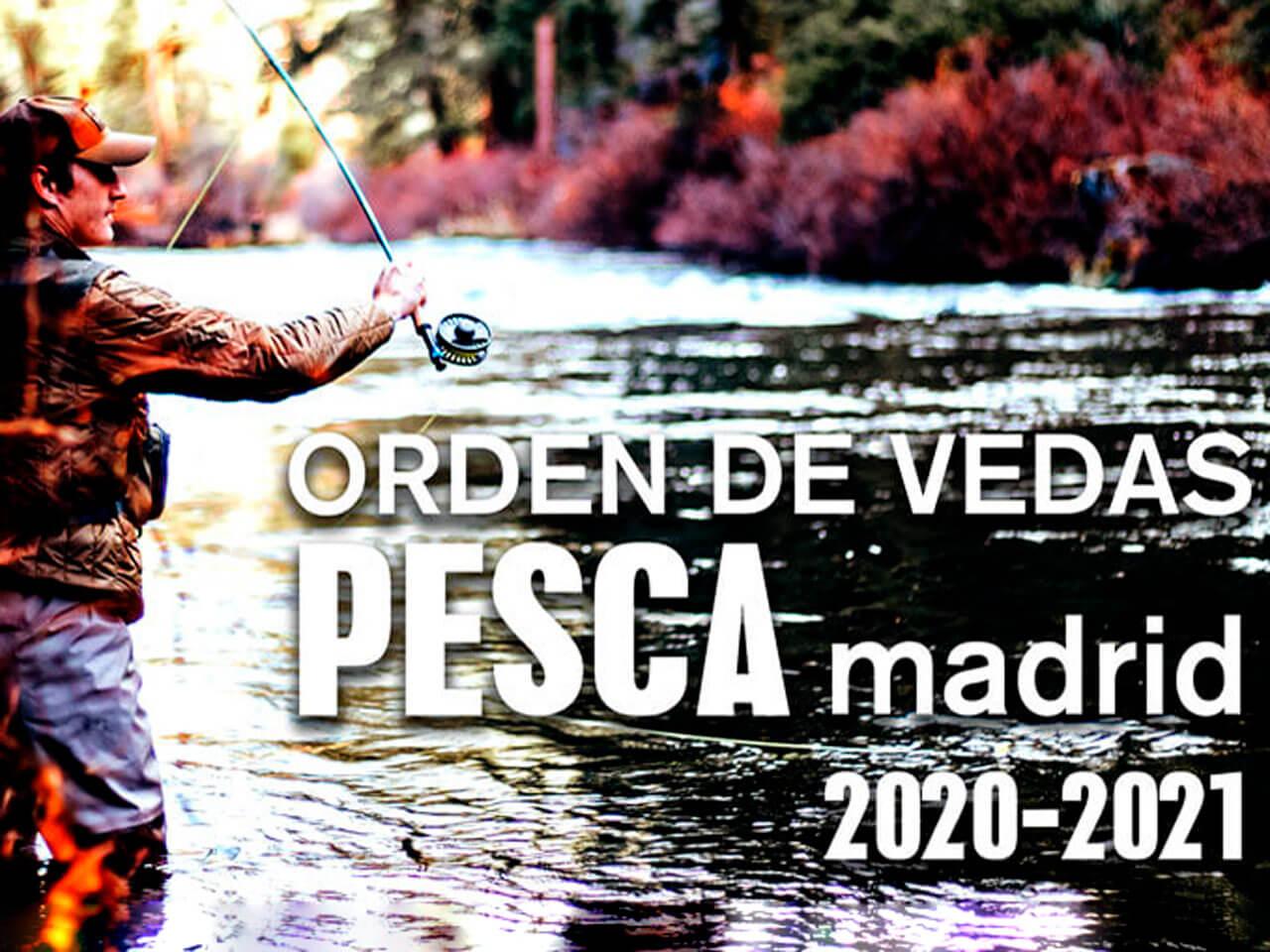 Publicada la Orden de vedas de pesca de la CAM 2021