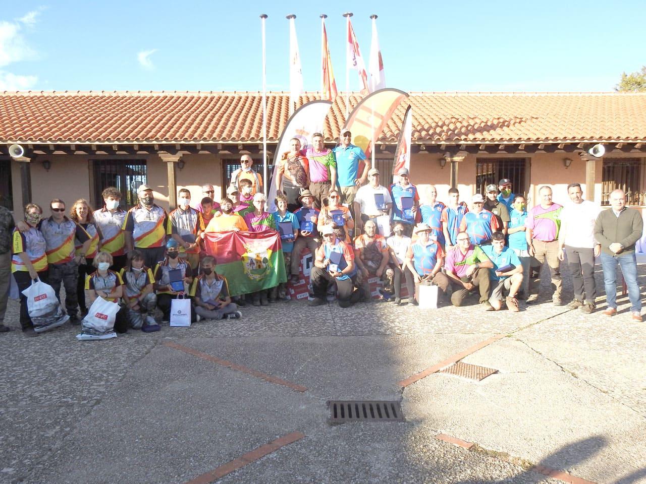 Nuestros deportistas madrileños triunfan en el Campeonato de España de Recorridos de Caza con Arco